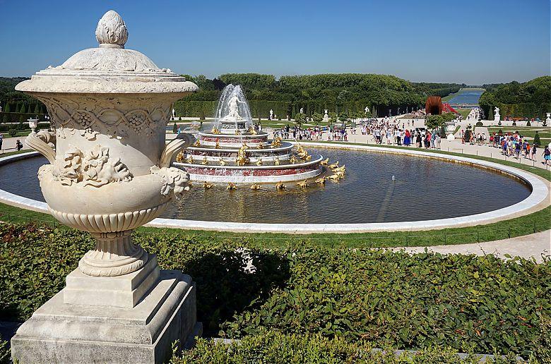 Giardini di versailles francia u foto editoriale stock bloodua
