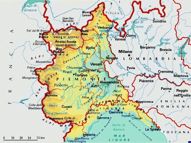 Cartina Geografica Piemonte Pieterduisenberg
